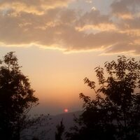 Sunset from Dharamghar