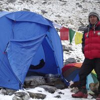 Chetan during expedition